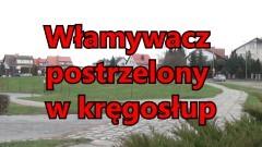 Włamywacz postrzelony w Kręgosłup. Ochroniarz strzelał w trakcie pościgu na Wielbarku w Malborku – 22.12.2015