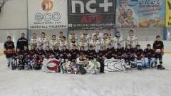 Ogólnopolski Turniej Mini Hokeja na Lodzie w ramach rozgrywek PZHL dla najmłodszych na lodowisku miejskim OSiR w Malborku - 16.01.2016
