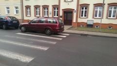 Przejście dla pieszych na Reymonta w Malborku czy parking? Kolejni mistrzowie(nie tylko)parkowania - 06.02.2016