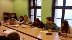 Uczniowie klasy 2a z Zespołu Szkół Ponadgimnazjalnych Nr 2 uczestniczyli w warsztatach archeologicznych w Karwanie na Zamku Malborskim - 05.02.2016