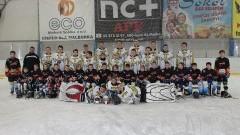 Aż 10 wychowanków UKS Bombek SP3 rywalizuje w rozgrywkach Regionalnej Ligi Hokejowe w Malborku, której organizatorem jest UKS oraz OSiR Malbork - 21.02.2016