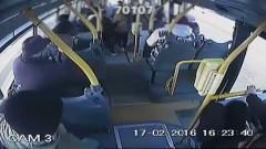 Dzięki reakcji kierowcy autobusu miejskiego w Elblągu nie doszło do tragedii - 17.02.2016