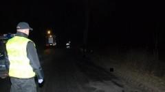 Śmiertelny wypadek w miejscowości Lubiszewo Drugie. Samochód uderzył w drzewo gm. Nowy Staw - 24.02.2016