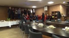 Spotkanie podsumowujące Warsztaty Metafory Muzyczne Chóru Mieszanego Lutnia w Szkole Łacińskiej w Malborku - 29.02.2016