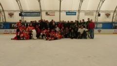 V edycja rozgrywek o mistrzostwo Regionalnej Ligi Hokeja na Lodzie w Malborku.7 drużyn, ponad 150 uczestników, cztery miesiące zmagań, 482 bramki w 42 meczach, rekordowa ilość bo aż 85 zawodników wpisało się na listę strzelców w sezonie 2015/16 - 06.03.2016