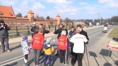 Sportowo dla płci pięknej. IV bieg oraz marsz Nordic Walking z okazji Dnia Kobiet w Malborku - 13.03.2016