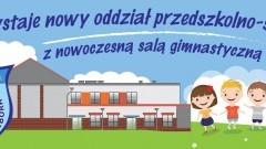 Nowoczesna sala gimnastyczna, nowy budynek przedszkolno-szkolny - już wkrótce. Gmina Malbork zaprasza