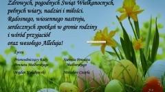 Życzenia wielkanocne od Starosty Malborskiego oraz Przewodniczącego Rady Powiatu Malborskiego - 23.03.2016