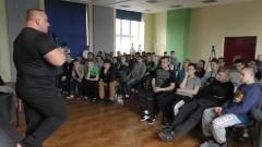 Mistrz odwiedził Młodzieżowy Ośrodek Wychowawczy w Malborku – 18.03.2016
