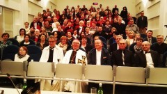 Spotkanie Wielkiego Mistrza Zakonu Krzyżackiego z członkami i przedstawicielami Fundacji Mater Dei Malbork - 16.04.2016