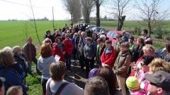 Żuławy u stóp zwiedzających. Kilkadziesiąt osób zwiedzało Dębinę i okolicę – 16.04.2016