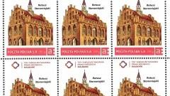 Malbork: Niedługo w sprzedaży znaczek pocztowy z wizerunkiem malborskiego ratusza – 19.04.2016