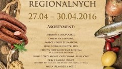Jarmark produktów regionalnych w Galerii Dekada Malbork 27-30.04.2016