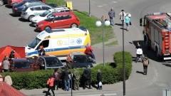 Reanimacja mężczyzny na parkingu przy ul. Sienkiewicza w Malborku – 20.04.2016