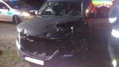 """Bałdowo: Zderzenie ciężarówki z osobowym volkswagenem na """"berlince"""". Dwie osoby ranne – 27.04.2016"""