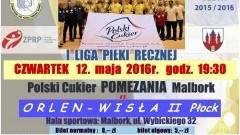 Polski Cukier zagra w Czwartek. Mecz Przełożony – 12.05.2016