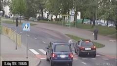 Elbląg: Film z potrącenia chłopca – nagranie ku przestrodze - 13.05.2016