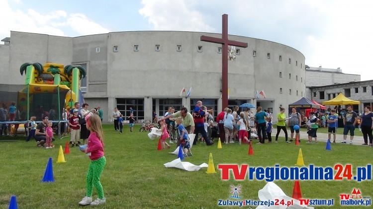Święto naszych pociech, czyli Parafialny Festyn z okazji Dnia Dziecka w Malborku - 28.05.2016
