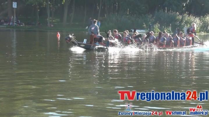 Regaty kajakowe i smocze łodzie na Nogacie w Malborku - 04/05.06.2016