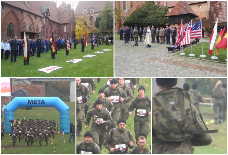Reprezentacja Polski bezkonkurencyjna podczas Mistrzostw Dowództwa Sił Powietrznych NATO w Europie w biegach przełajowych na terenie MZM w Malborku - 27.10.2016
