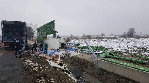 Elbląg: Śmiertelny wypadek w Kazimierzowie – uwaga kierowcy! - 2.02.2017