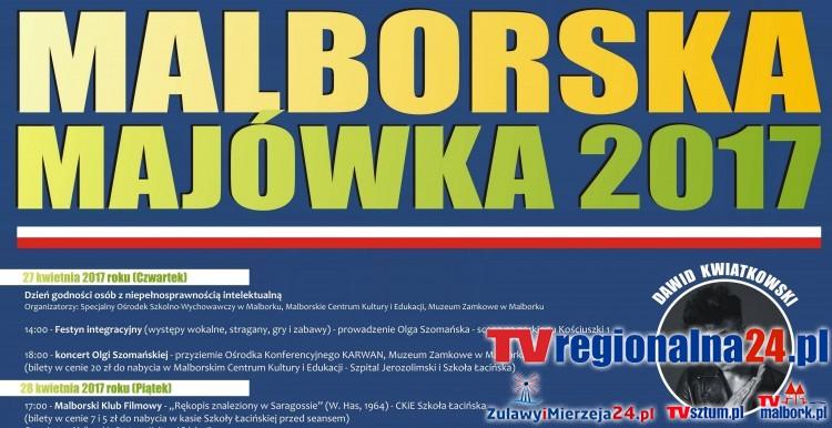 Majówka 2017 w Malborku: imprezy, koncerty i inne atrakcje. Sprawdź, co będzie się działo! - 27.04-03.05.2017