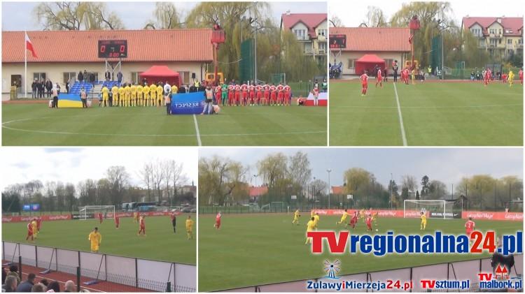 Cały mecz Polska - Ukraina. Turniej UEFA U-16 Development w Nowym Stawie - 17.04.2017