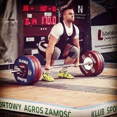 Trzy srebrne medale na Mistrzostwach Polski w Zamościu dla Karola Klimaszewskiego - 10-11.06.2017