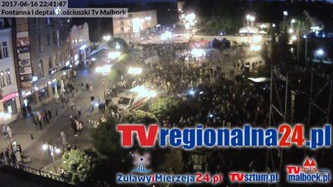 Malbork: Tymczasowa zmiana organizacji ruchu przy ul. Kościuszki. Zapraszamy na Dni Malborka, które się odbędą w centrum miasta - 16.06.2017
