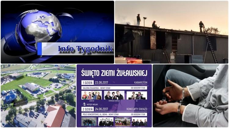 Najważniejsze i najciekawsze wydarzenia minionego tygodnia. Info Tygodnik w nowej formule. Malbork - Sztum - Nowy Dwór Gdański – 17.06.2017