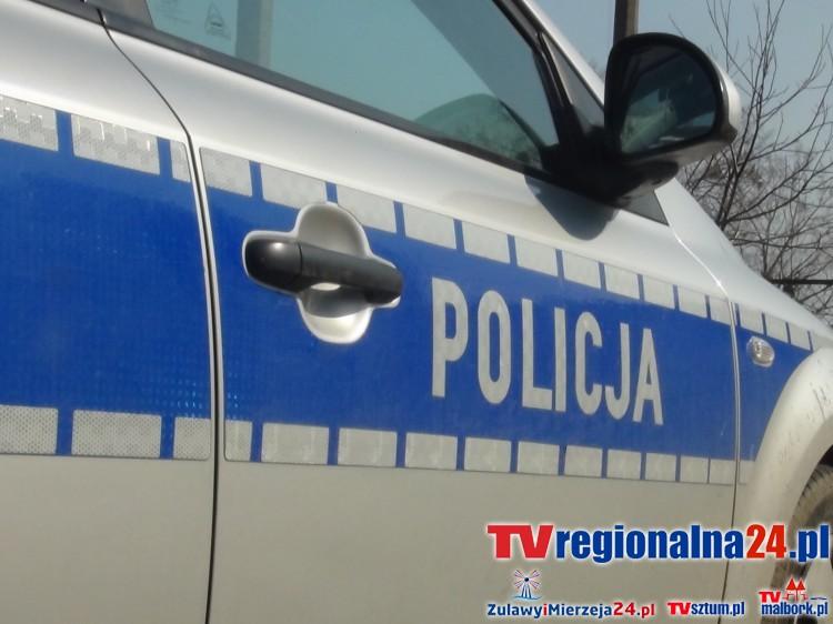 Nocny rajd kierowcy Audi 80 i zniszczenie płotu w Sztutowie. Policja poszukuje sprawcy -18.06.2017