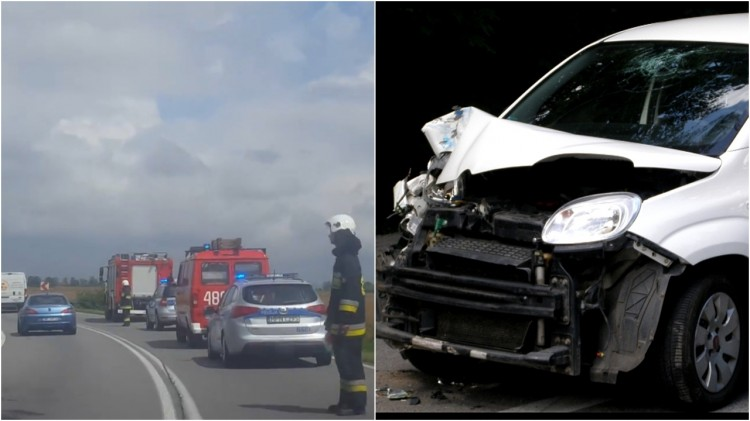 Niebezpieczny poniedziałek na malborskich drogach. Dachowanie i stłuczka trzech aut – 25.07.2017