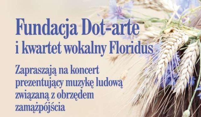 Malbork : Zapraszamy na koncert kwartetu wokalnego Floridus - 13.08.2017