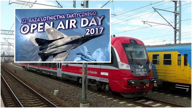 Wzmocnione składy na Open Air Day 2017 - zobacz rozkład jazdy pociągów - 16.09.2017