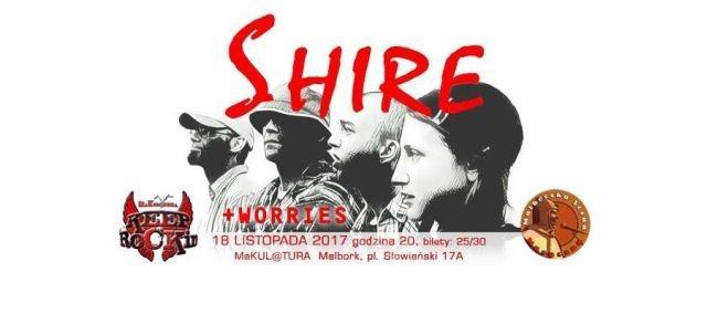 Zapraszamy na koncert malborskiego zespołu SHIRE! - 18.11.2017