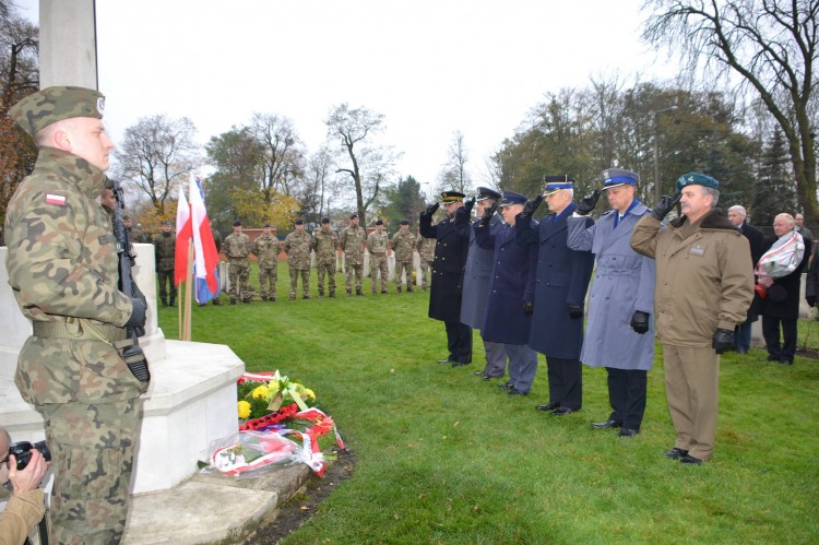 Dzień Pamięci na Cmentarzu Żołnierzy Wspólnoty Brytyjskiej w Malborku - 09.11.2017