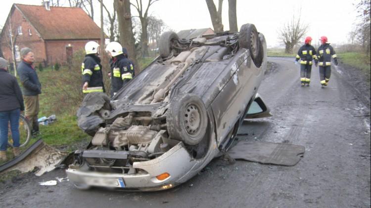 Wypadki, kolizje i potrącenie pieszej. Weekendowy raport malborskich służb mundurowych – 20.11.2017