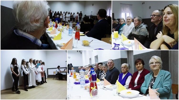 Noworoczne spotkanie seniorów w Miłoradzu - 10.01.2018