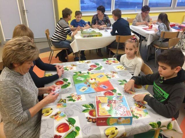Międzypokoleniowe rozgrywki gier planszowych w malborskiej Szkole Podstawowej nr 3 - 23.01.2018