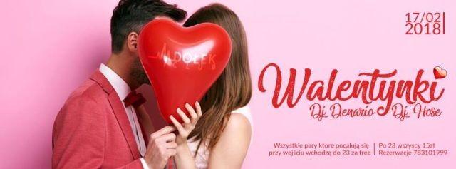 Walentynki - malborski Club Dołek zaprasza! - 17.02.2018