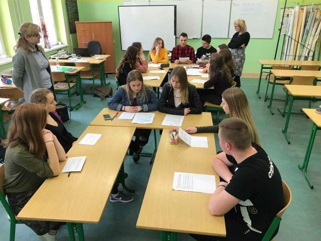 Tydzień Edukacji Prawnej w II LO w Malborku - 08.03.2018