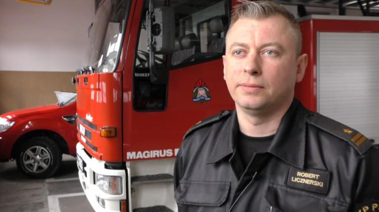 Pożary i potrącenie rowerzysty. Weekendowy raport malborskich służb mundurowych – 12.03.2018