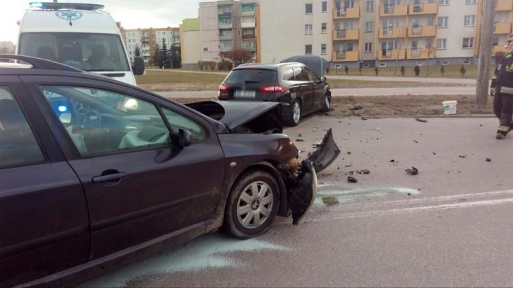 Potrącenie i kolejny wypadek na Kotarbińskiego. Weekendowy raport malborskich służb mundurowych