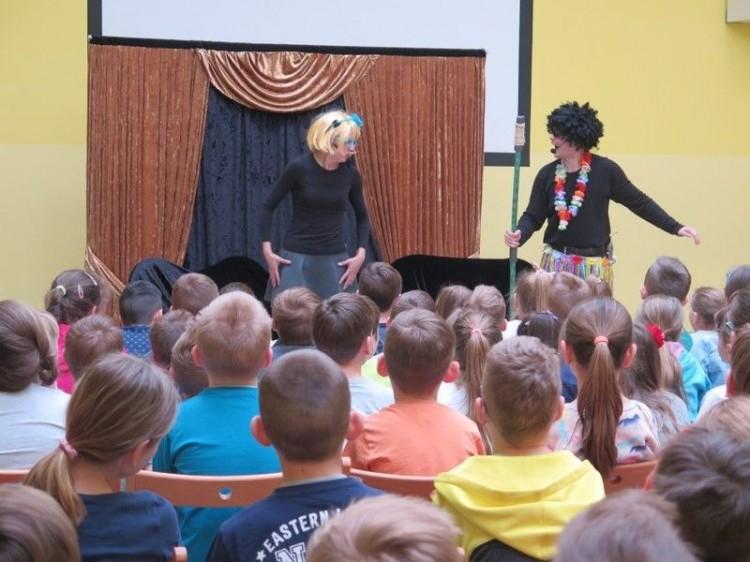 Malbork : Występ Teatru
