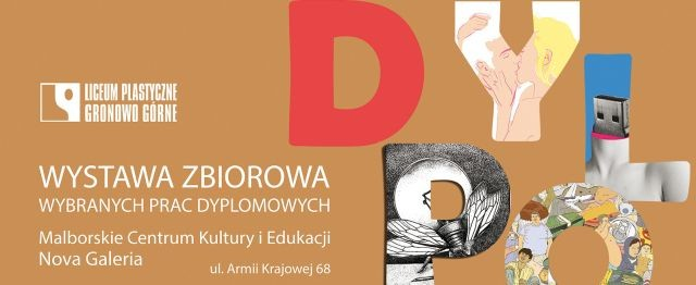 Malbork : Zapraszamy na wystawę prac uczniów Liceum Plastycznego w Gronowie Górnym!