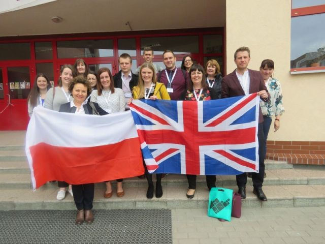 Wizyta nauczycieli z Anglii w malborskiej Szkole Podstawowej nr 5