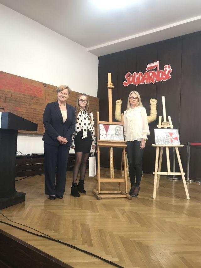 Gmina Miłoradz: Nagroda zawiedzie ją aż do Brukseli… Martynko, gratulacje!