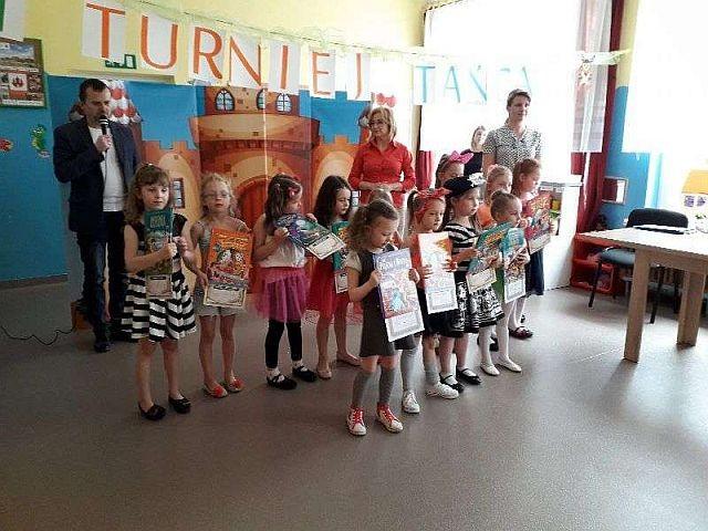I Przedszkolny Turniej Tańca w malborskim Przedszkolu nr 8