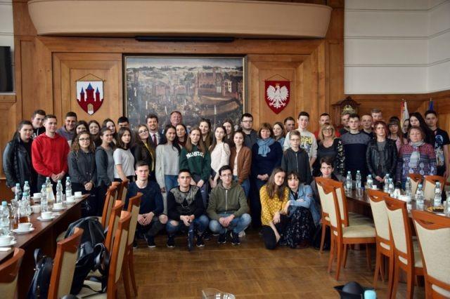 Spotkanie młodzieży z Trok na Litwie i I LO w Malborku