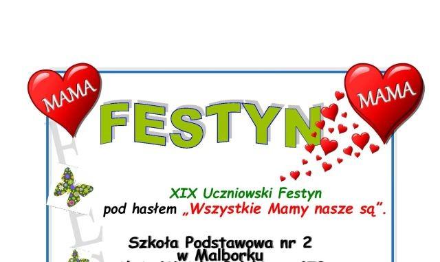 Szkoła Podstawowa nr 2 w Malborku zaprasza na festyn